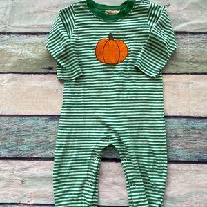 Baby Luigi Pumpkin Bodysuit